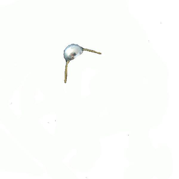 Odznak AČR hodnosť pecka strieborná lesklá 8mm