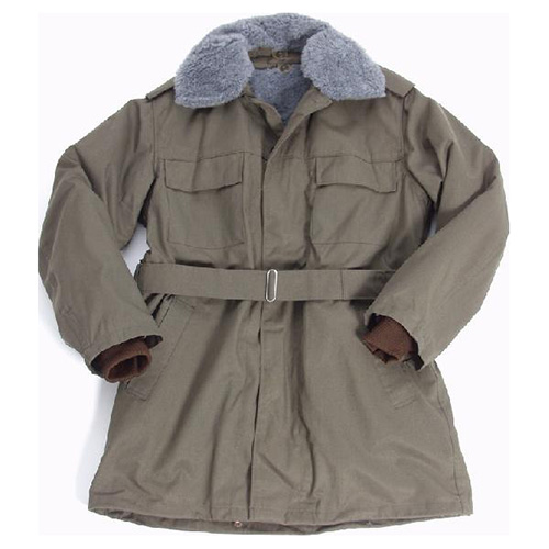 Kabát Vz.85 zelený s vložkou a golierom mix