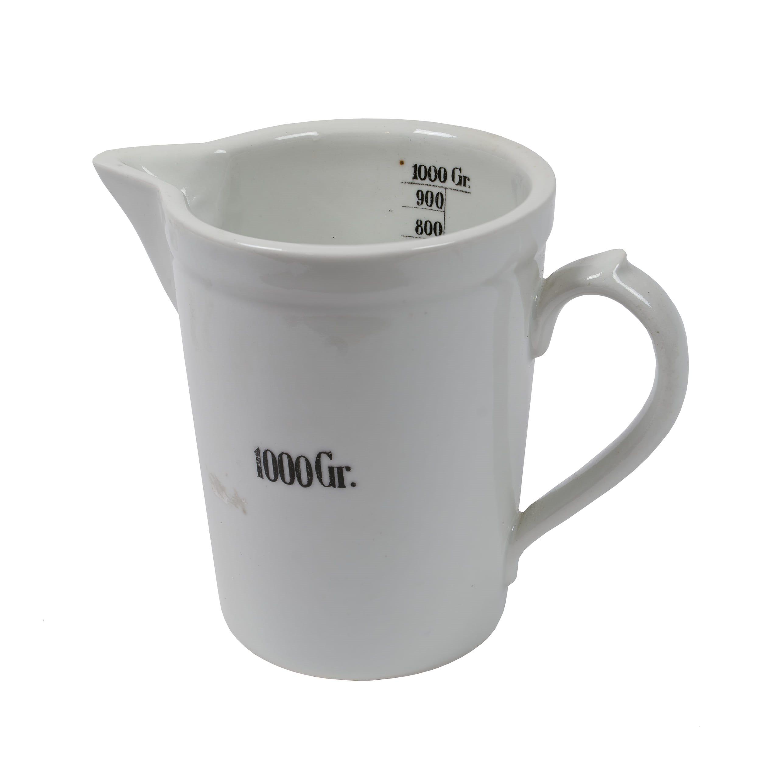 Odmerka porcelánová lekárenská 1000 ml  8202974 L-11