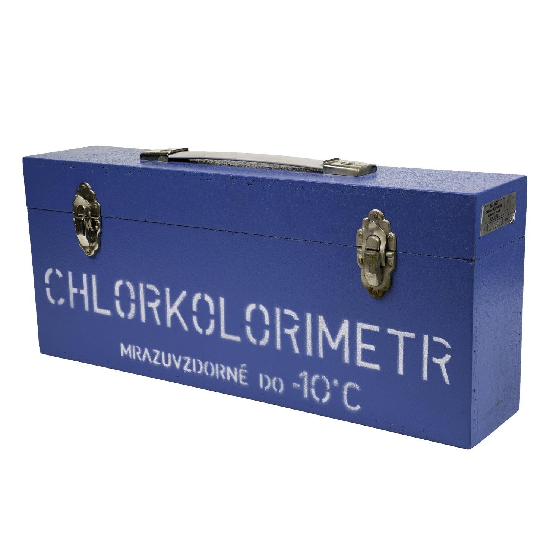 Kufrík od CHLORKOLORIMETRU