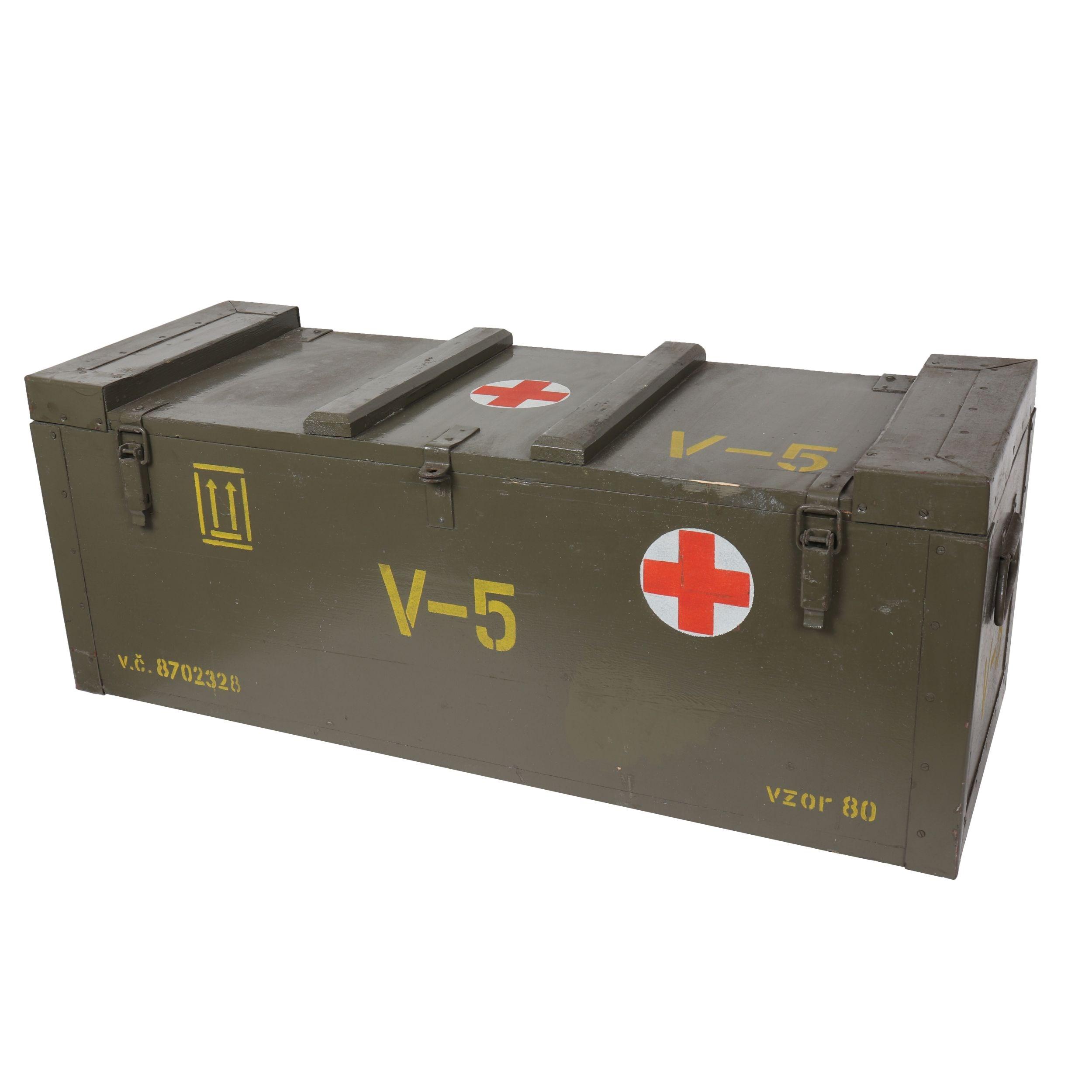 Debna drevená zdravotná AČR V-5