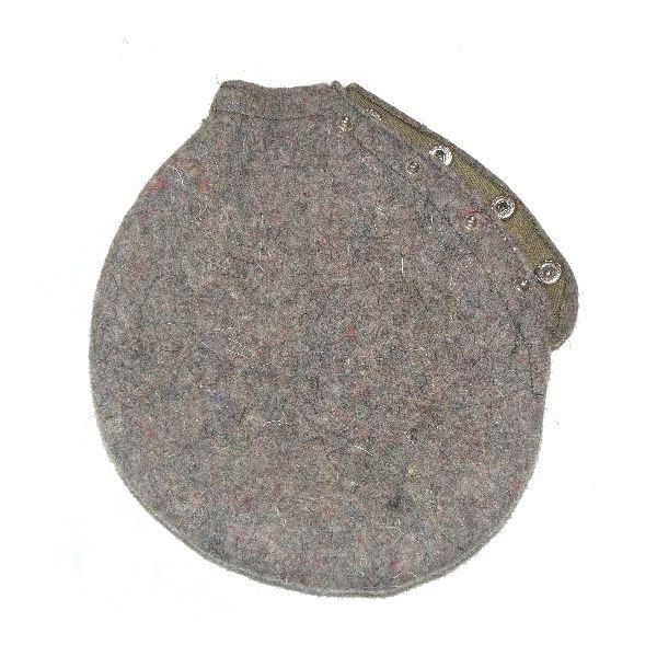 Obal filcový s druky na polní hliníkovou láhev ČSLA