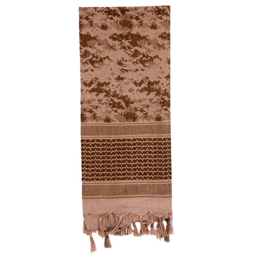 Šatka SHEMAG 107 x 107 cm DIGITAL DESERT MARPAT