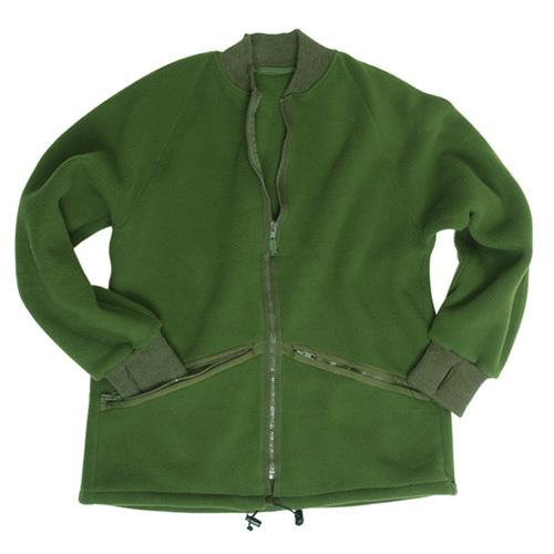 Bunda fleece britská OLIV použitá Armáda Britská 91085500 L-11