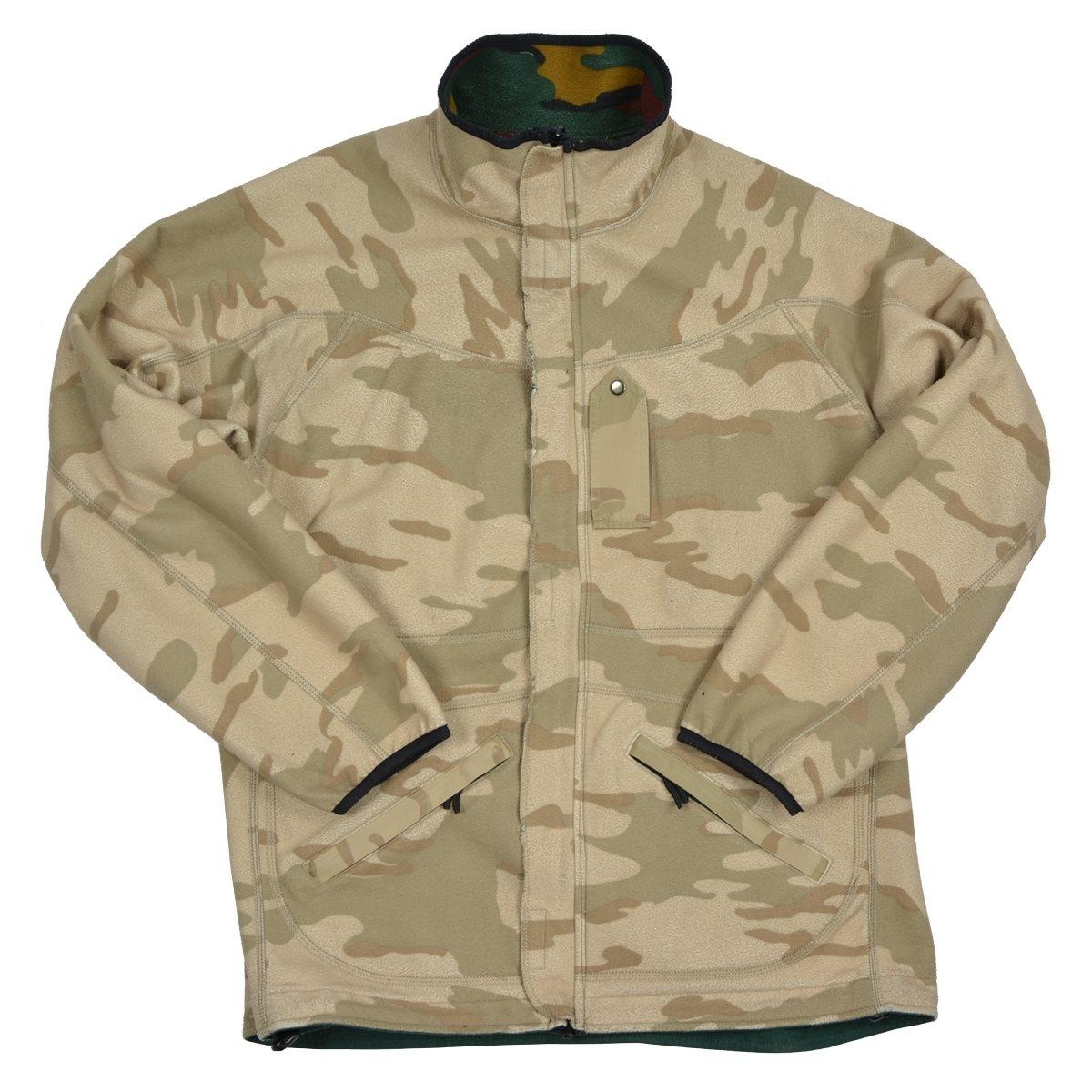 Bunda fleece obojstranná belgická použitá Armáda Belgická 91085560 L-11