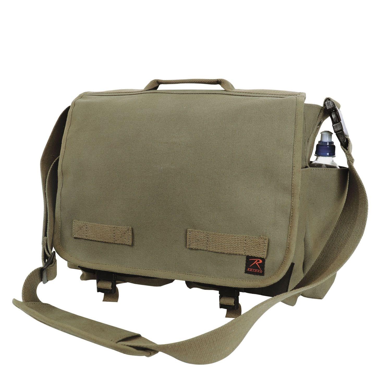 Taška cez rameno Concealed Carry Messenger ZELENÁ