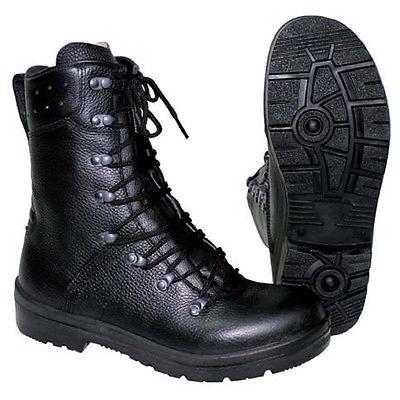 Topánky BW 2000 kožené ČIERNE