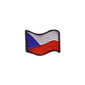 Nášivka ČR vlajka vlajúca FAREBNÉ