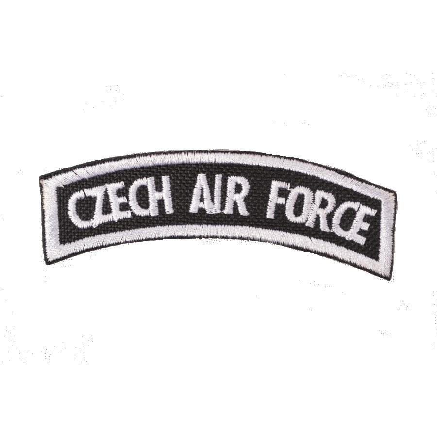 Nášivka oblouček CZECH AIR FORCE
