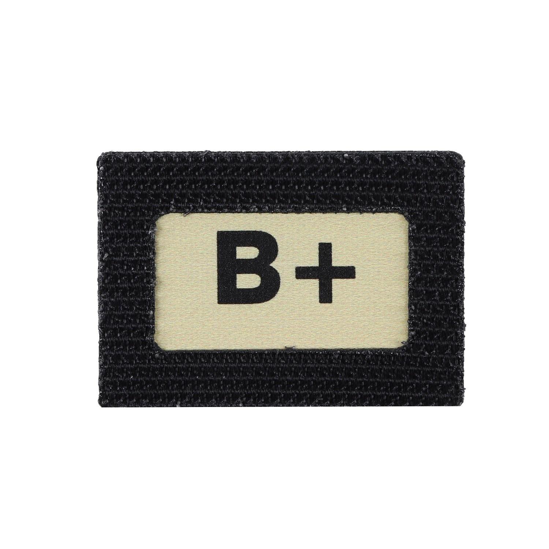 Nášivka Glinde TAPE krvná skupina B +