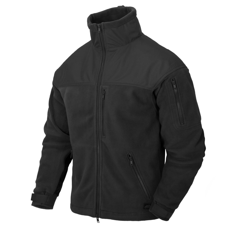 Bunda CLASSIC ARMY fleece ČIERNA Helikon-Tex® BL-CAF-FL-01 L-11