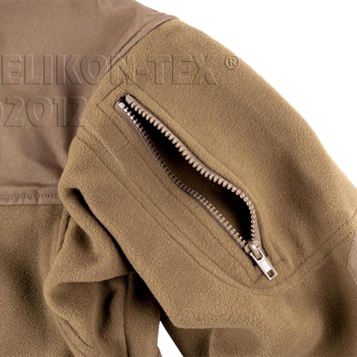 Bunda CLASSIC ARMY fleece COYOTE Helikon-Tex® BL-CAF-FL-11 L-11