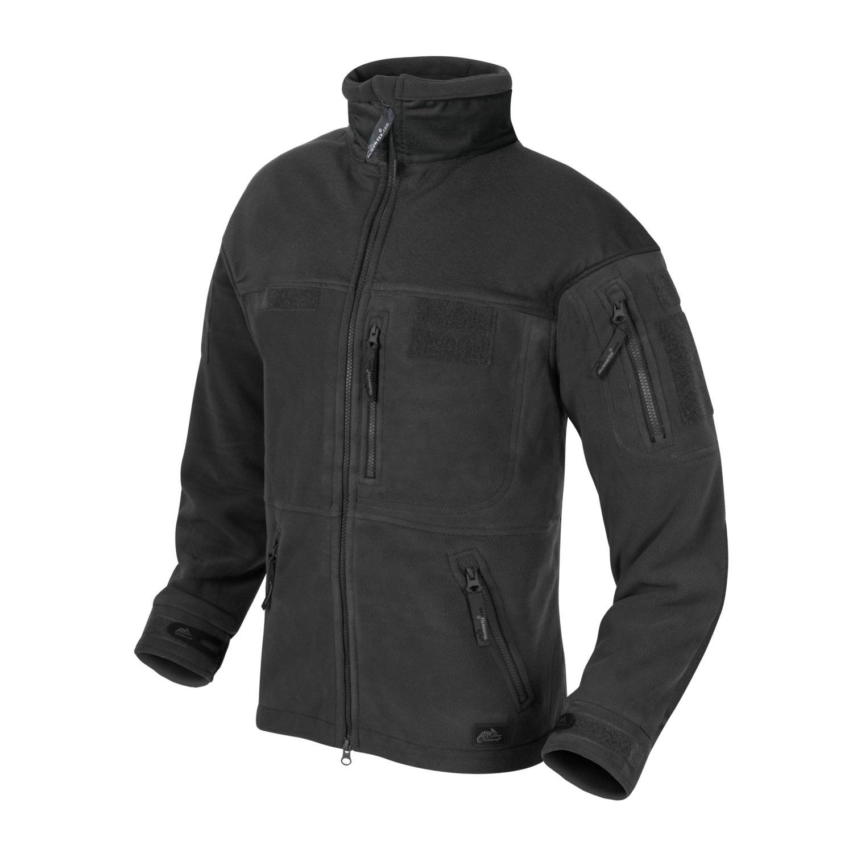 Bunda INFANTRY fleece ČIERNA Helikon-Tex® BL-INF-HF-01 L-11