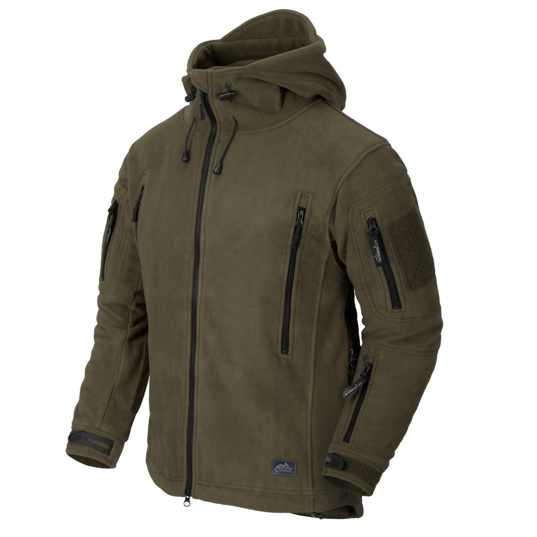 Bunda PATRIOT Heavy fleece OLIV Helikon-Tex® BL-PAT-HF-02 L-11