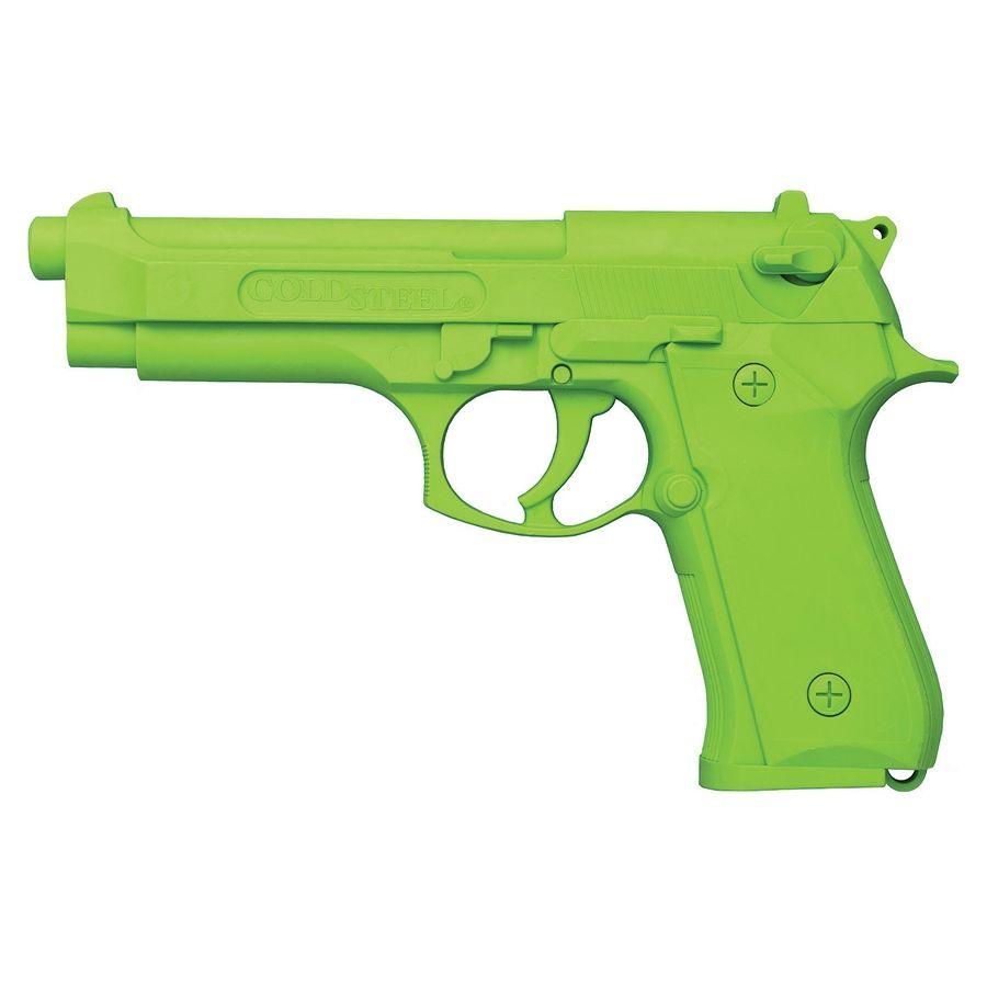 Pištoľ cvičná MODEL 92 plastová REFLEXNÁ ZELENÁ