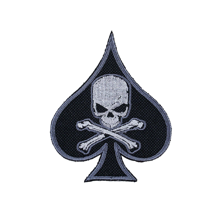 Nášivka DEATH SPADE - OLIV