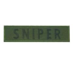 Nášivka SNIPER - OLIV