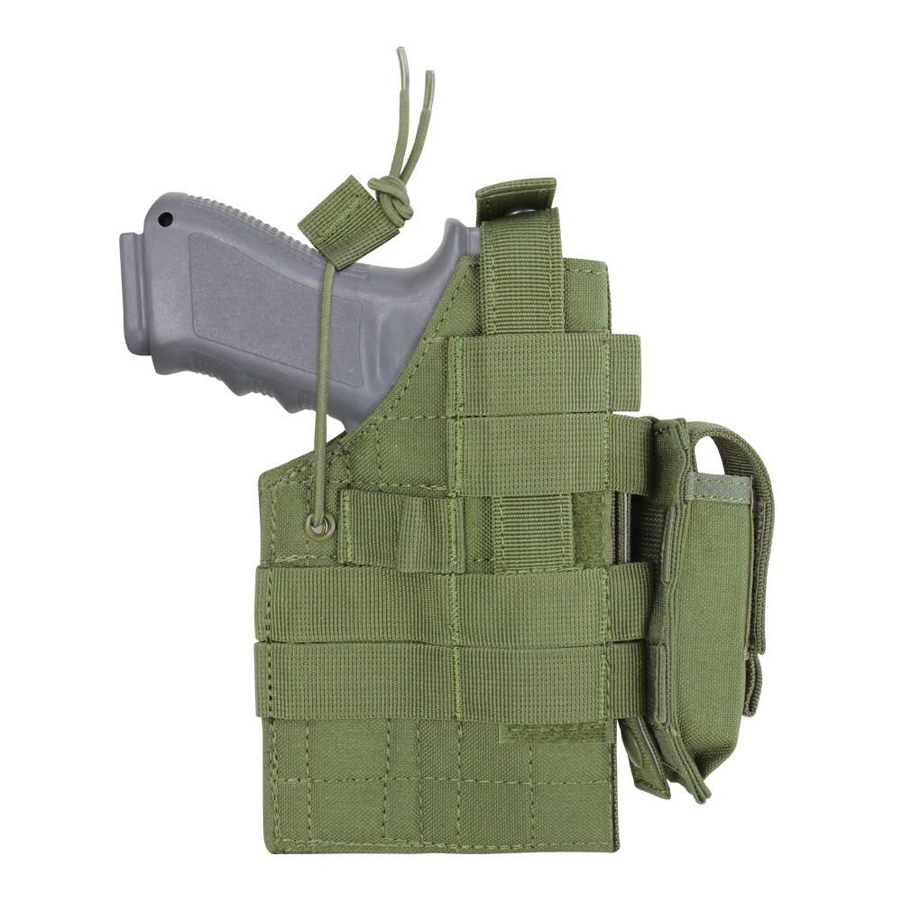 Púzdro pištoľové MOLLE glock obojstranné OLIV