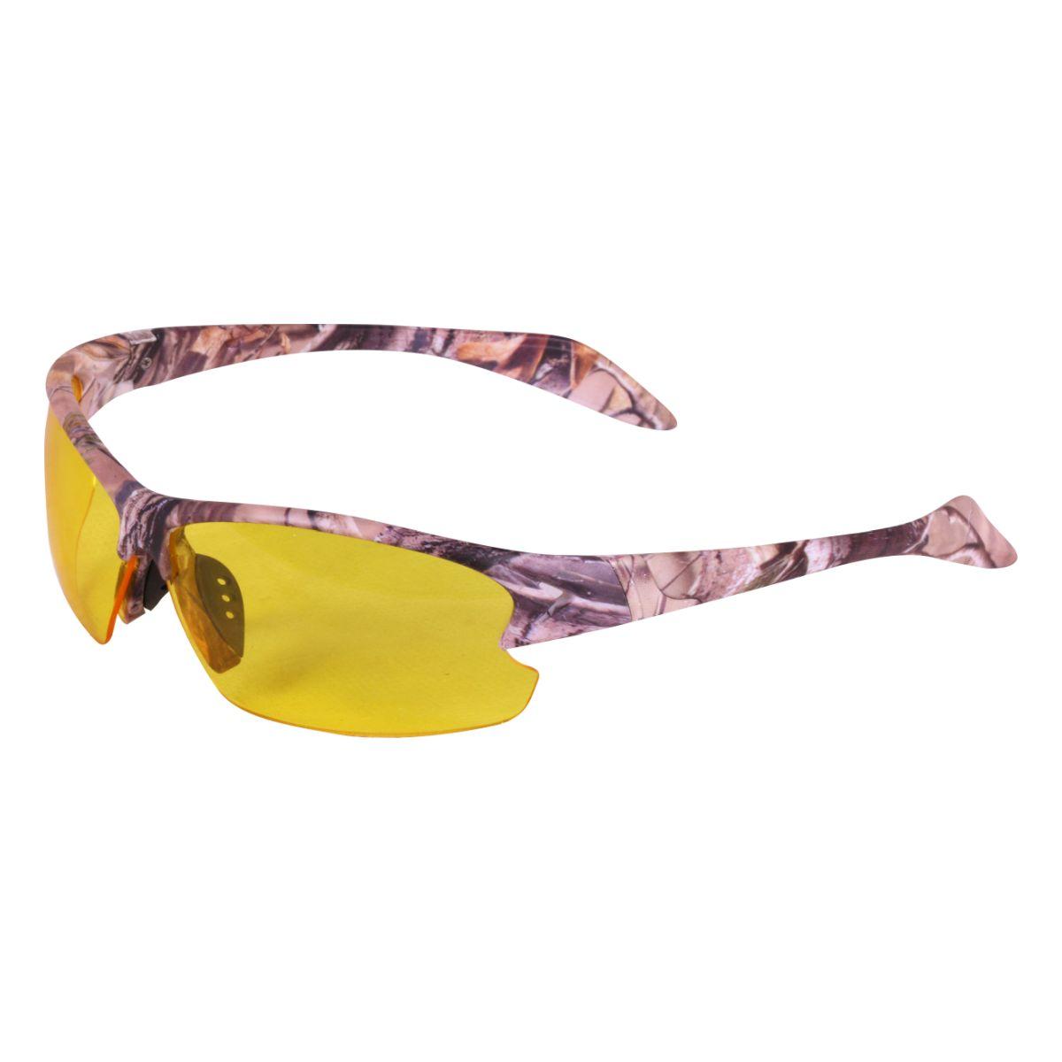 Okuliare strelecké 2 skla s púzdrom FORES CAMO HNEDÉ