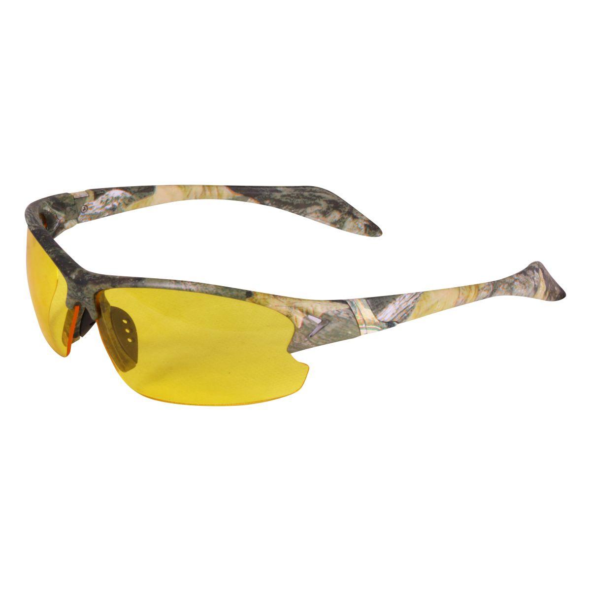 Okuliare strelecké 2 skla s púzdrom FORES CAMO ZELENÁ