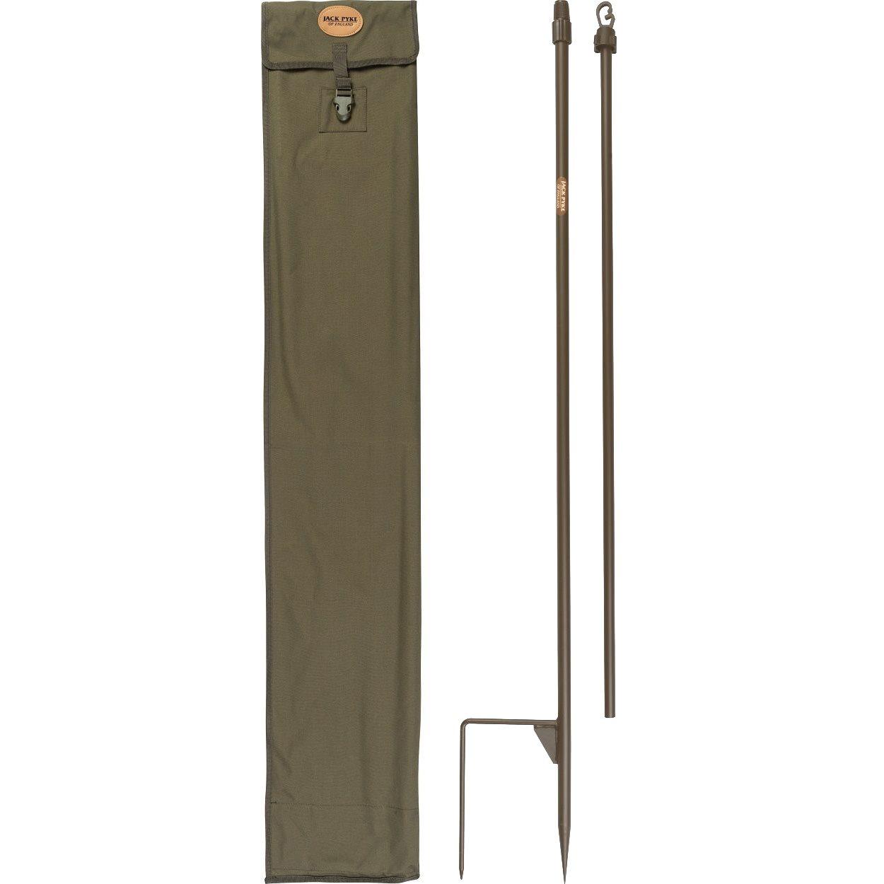 Podporné tyče na maskovaciu sieť 4 ks + obal ZELENÉ