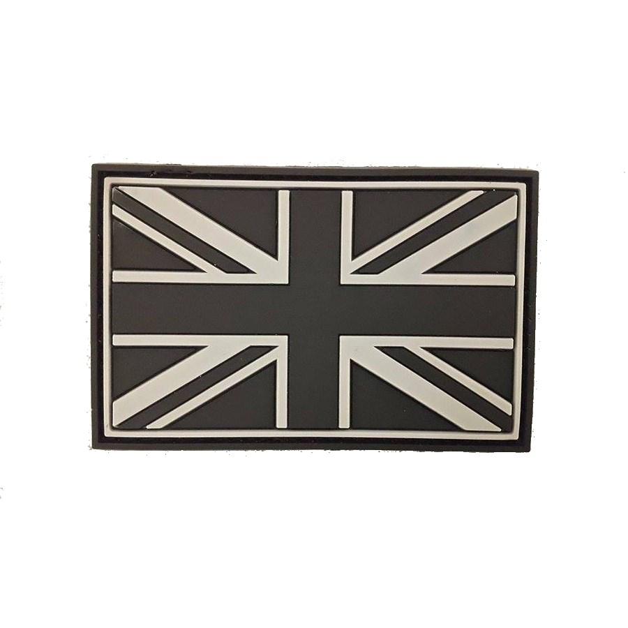 Nášivka vlajka VEĽKÁ BRITÁNIA plast velcro veľká SWAT