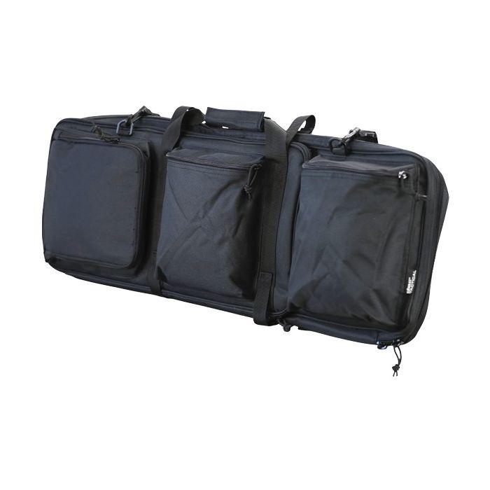 Taška/batoh MULTIPLE pre viac zbraní ČIERNA