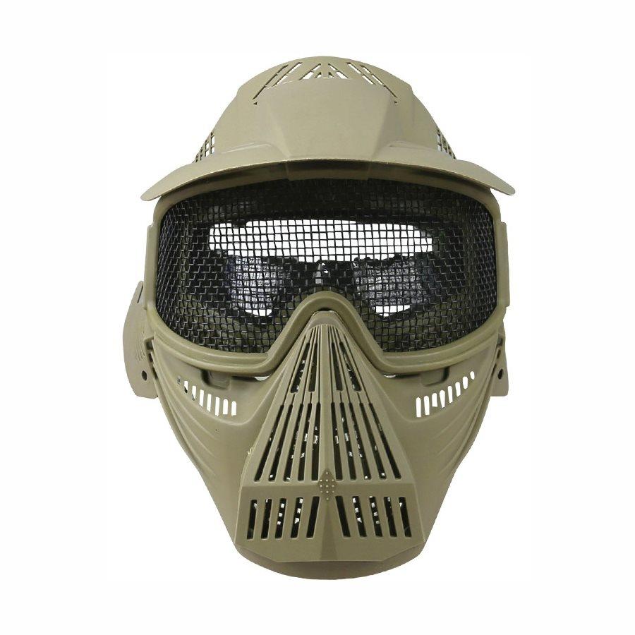 Maska celotvárová s mriežkou COYOTE