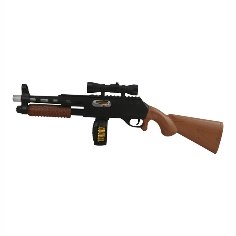 Hračka puška PUMP ACTION plastová 57 cm