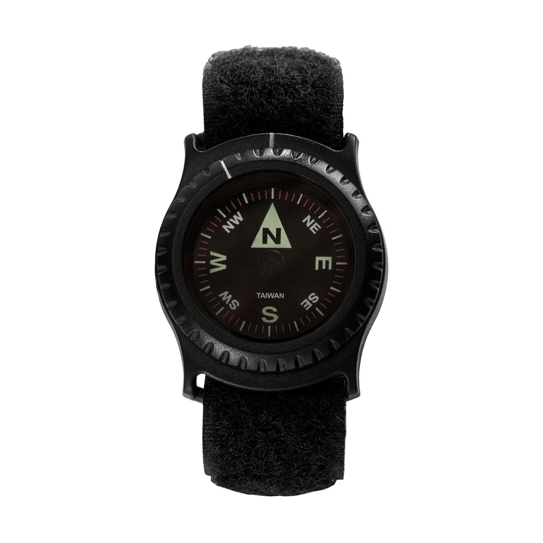 Kompas na zápästie T25 ČIERNY Helikon-Tex® KS-W25-AC-01 L-11