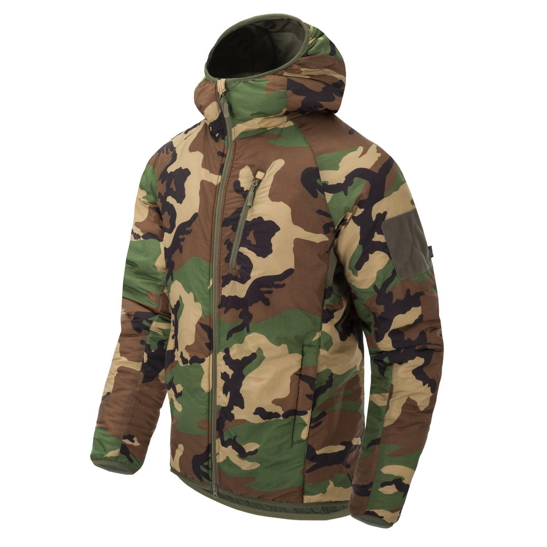 Bunda WOLFHOUND s kapucňou US WOODLAND Helikon-Tex® KU-WLH-NL-03 L-11