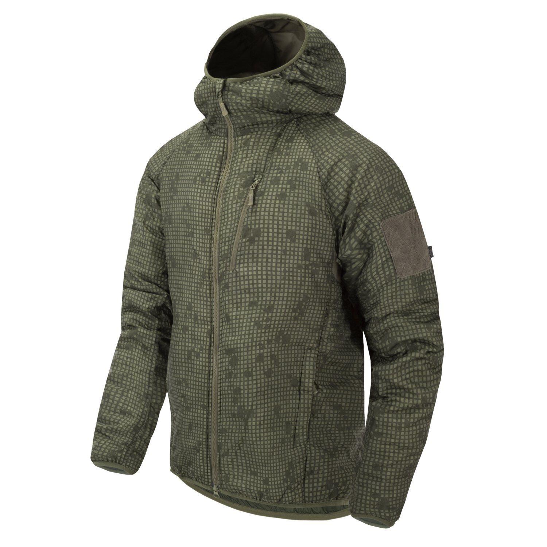 Bunda WOLFHOUND s kapucňou DESERT NIGHT CAMO Helikon-Tex® KU-WLH-NL-0L L-11