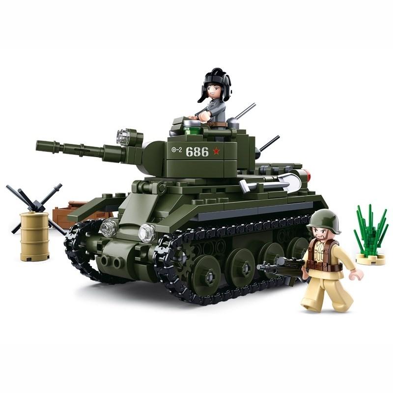 Stavebnica SOVIETSKY TANK BT-7