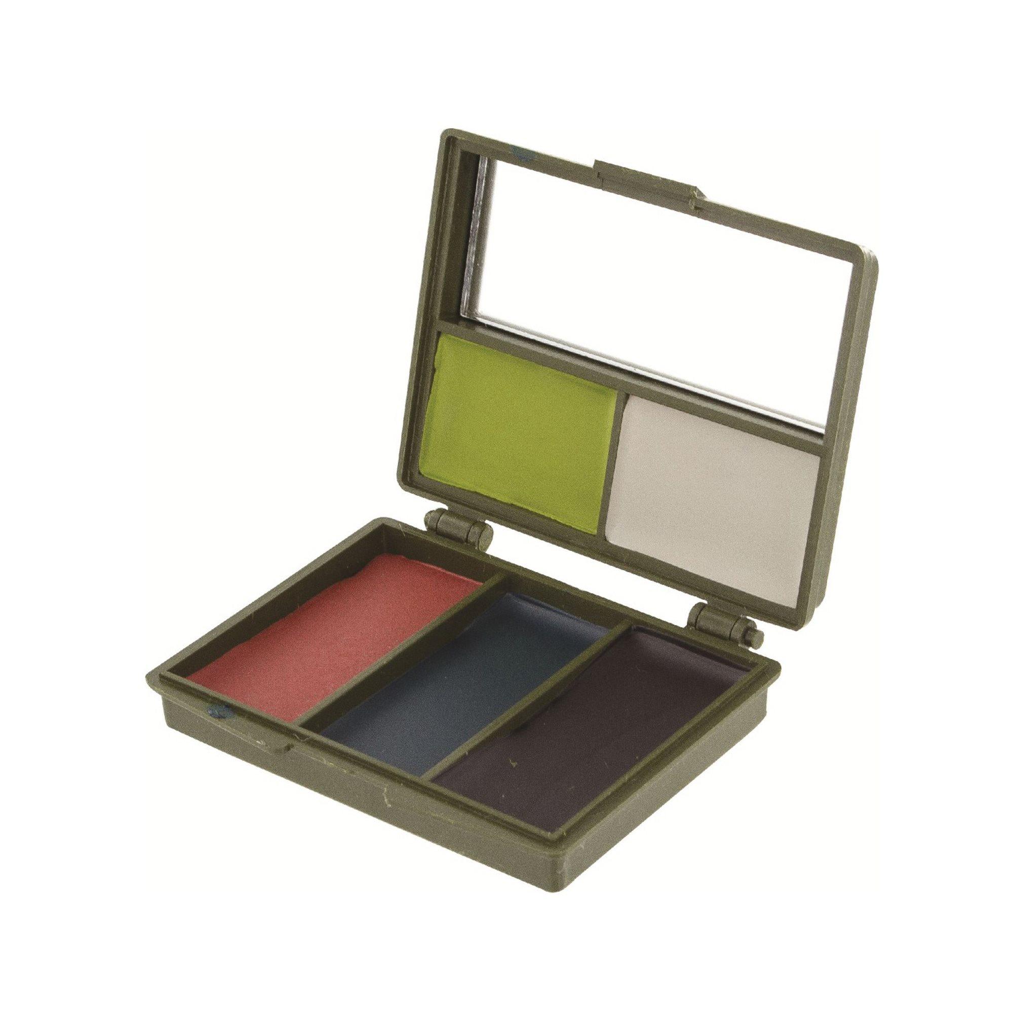 Farby maskovacie 5 farieb so zrkadielkom