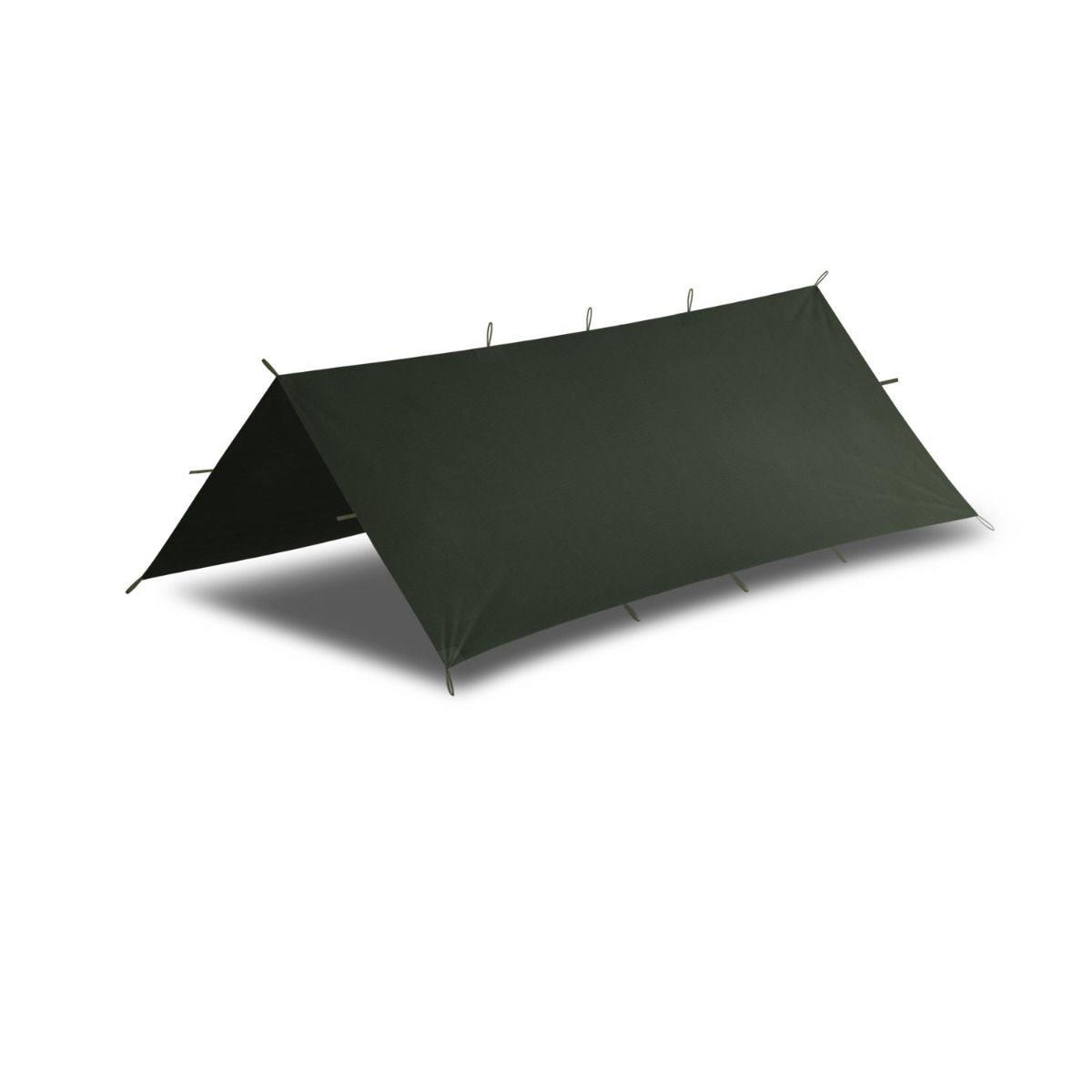 Plachta pre bivakovanie SUPERTARP® malá OLIVE GREEN