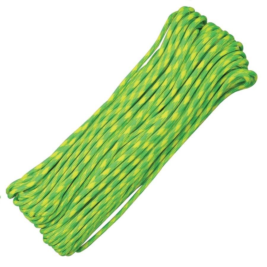 Šnúra PARACORD nylon 550LB 30m 4mm Lemon-Lime