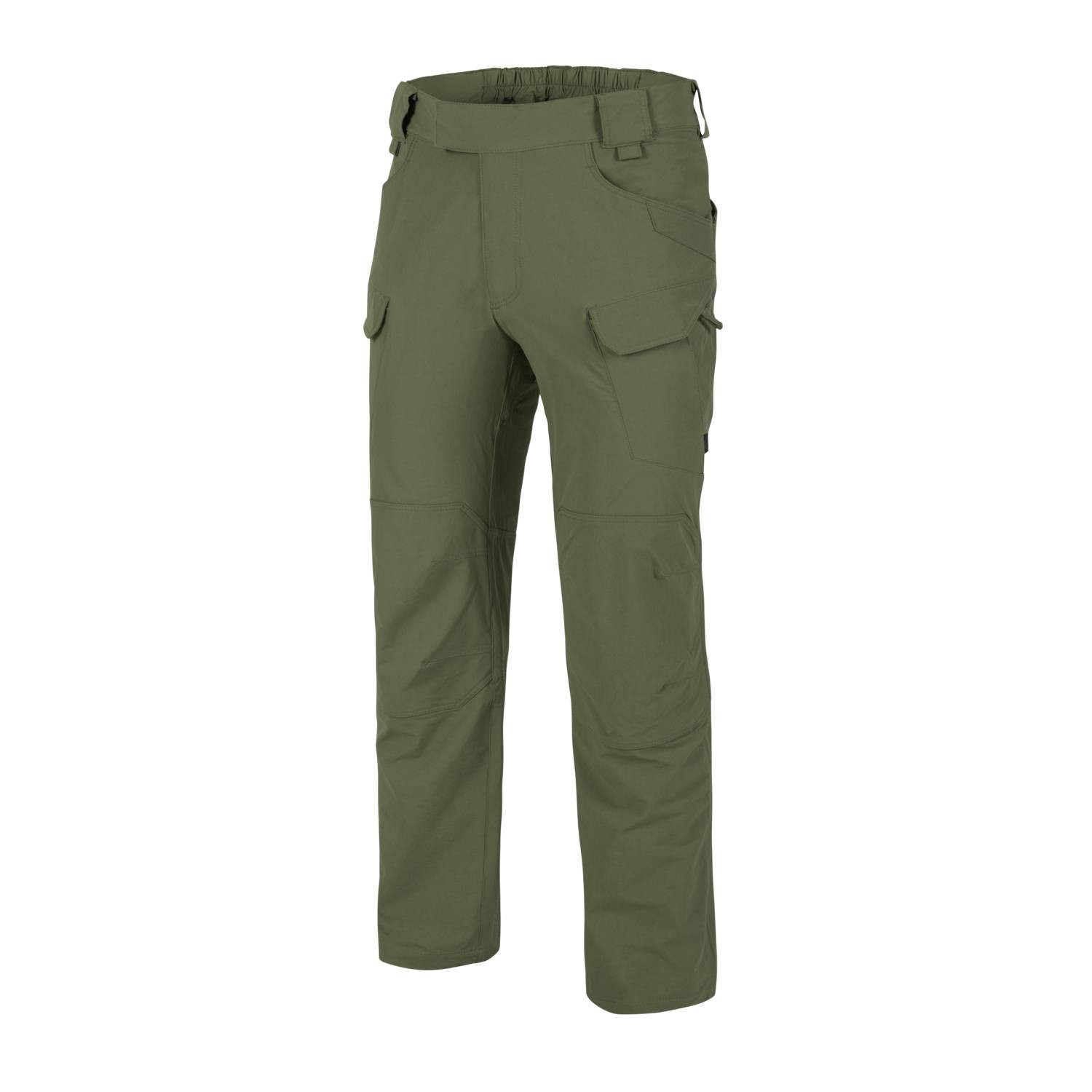Nohavice OUTDOOR TACTICAL® softshell OLIVE GREEN