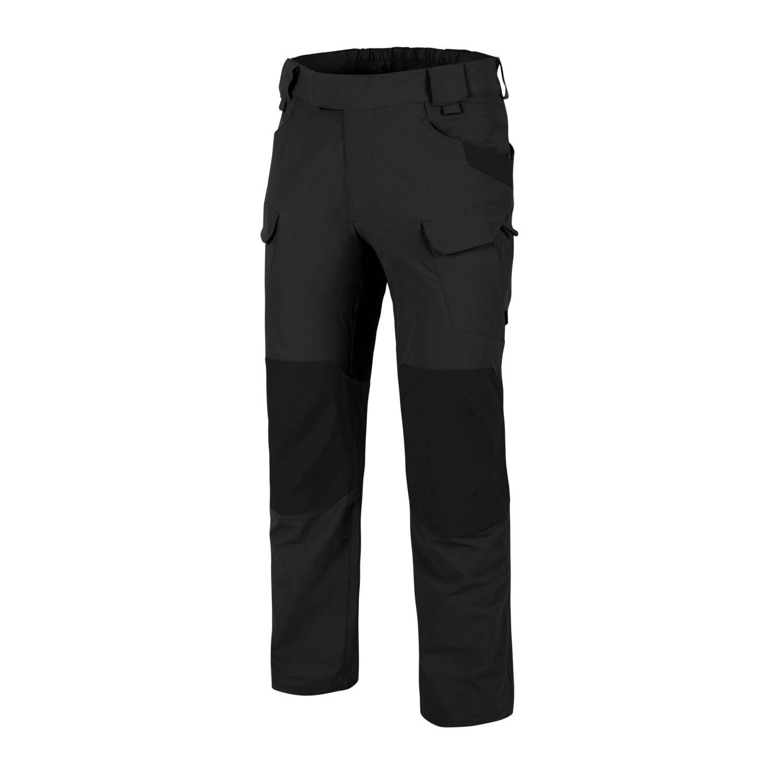 Nohavice OUTDOOR TACTICAL® softshell Ash Grey / Black
