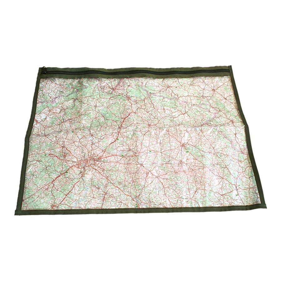 Fólia k obalu na mapu k MNS-2000 ZELENÁ