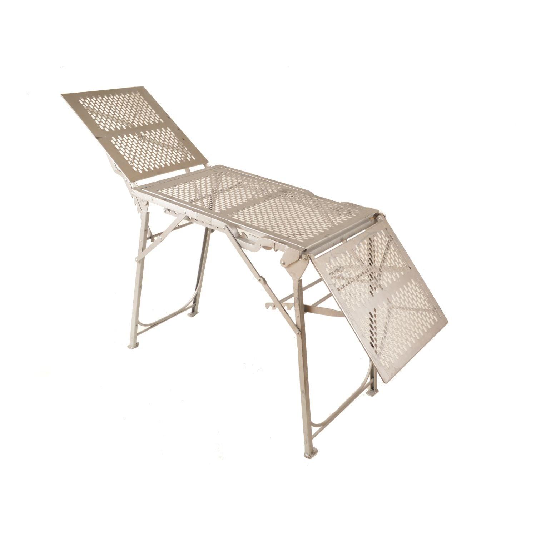 Stôl operačný kovový vrátane prepravnej debny