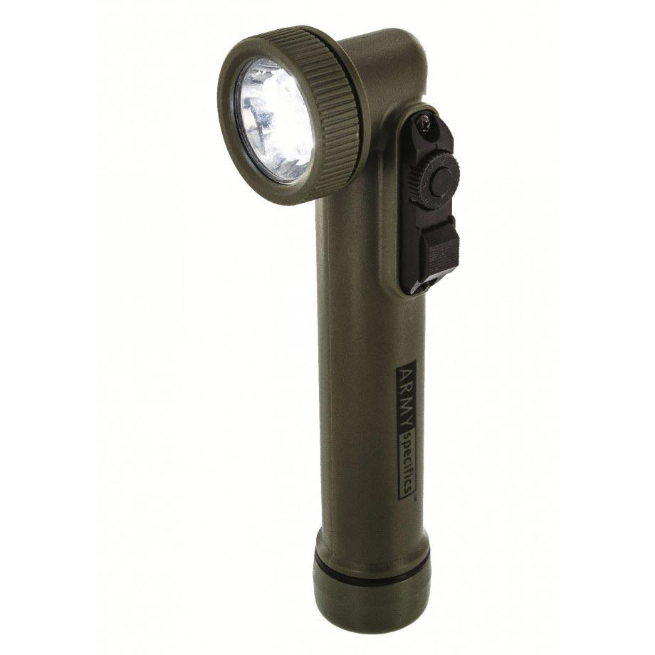 Svietidlo GI fajka 6 LED (3 biele + RGB) OLIVE