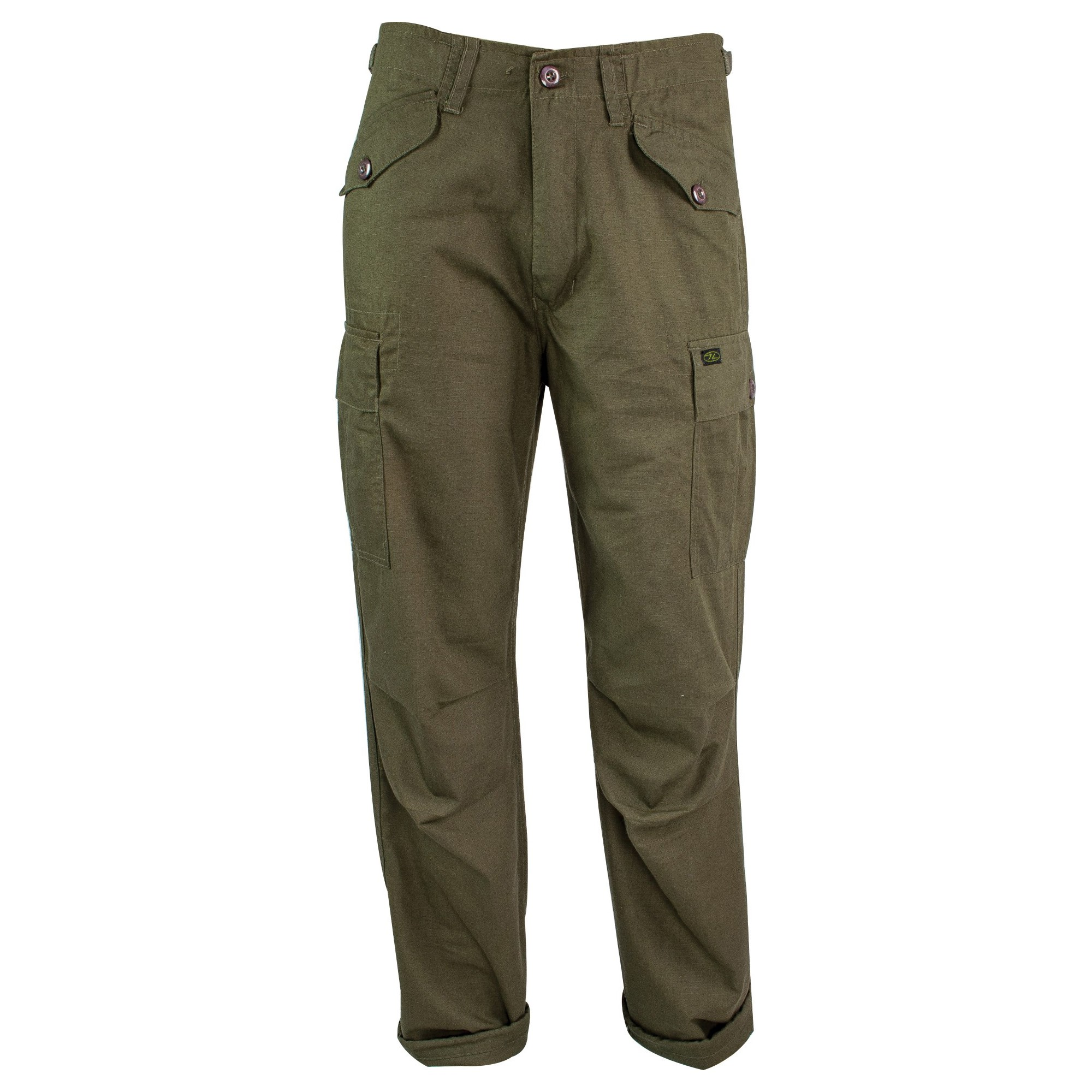 Nohavice M65 MILITARY STYLE rip-stop OLIVE