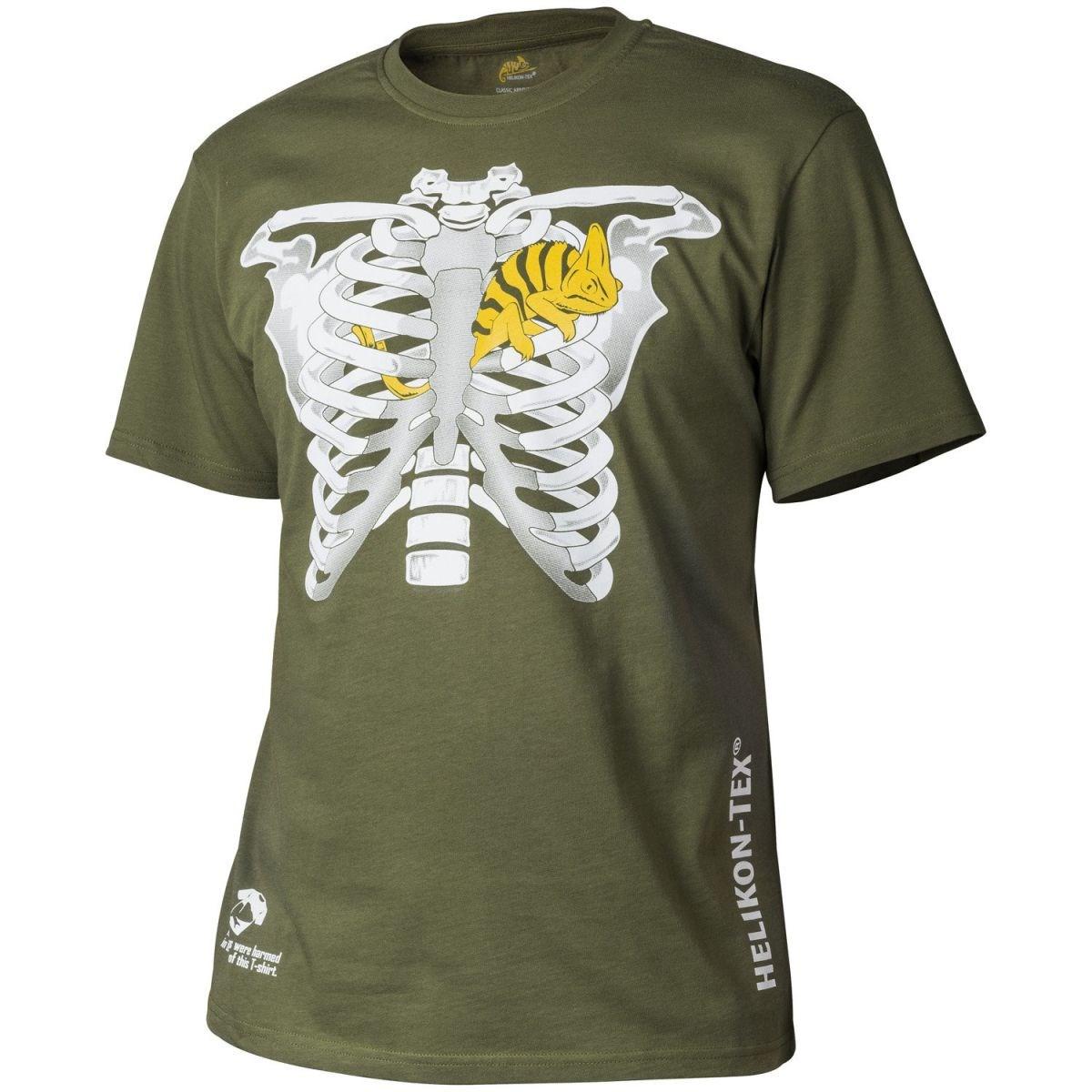 Tričko CLASSIC CHAMELEON U.S. GREEN