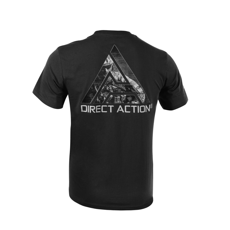 Tričko DIRECT ACTION GO LOUD ČIERNE DIRECT ACTION® TS-LDA3-CTN-BLK L-11