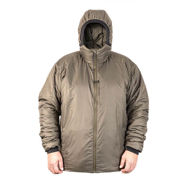 Bunda zimná BARRA s kapucňou Climashield® ZELENÁ