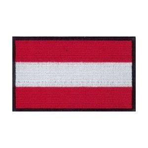 Nášivka vlajka RAKÚSKO