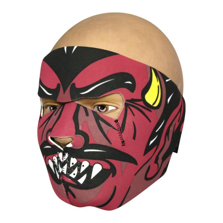 Maska tvárová NEOPREN 3mm DEVIL