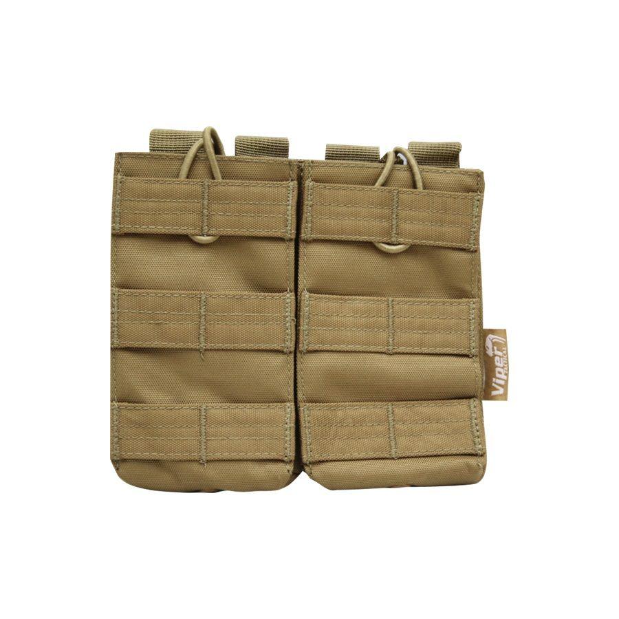 Puzdro na zásobník M4/M16 RELEASE dvojité Viper COYOTE