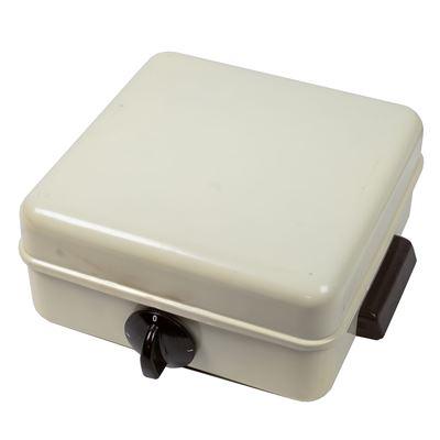 Varič jednoplatničkový rúrkový s prepínačom RETRO typ 032 A