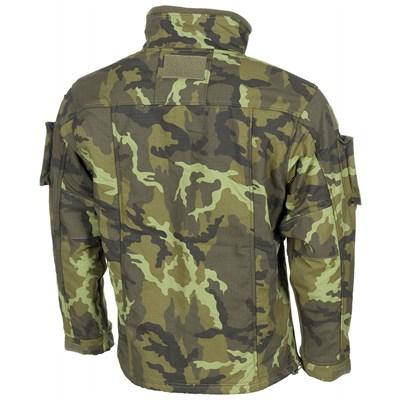 Bunda taktická fleece COMBAT AČR vz.95 Les